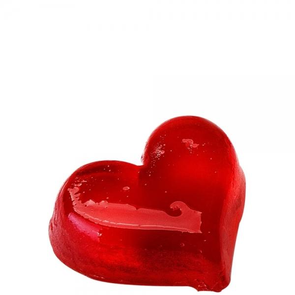 Mydło Czerwone serce średnie