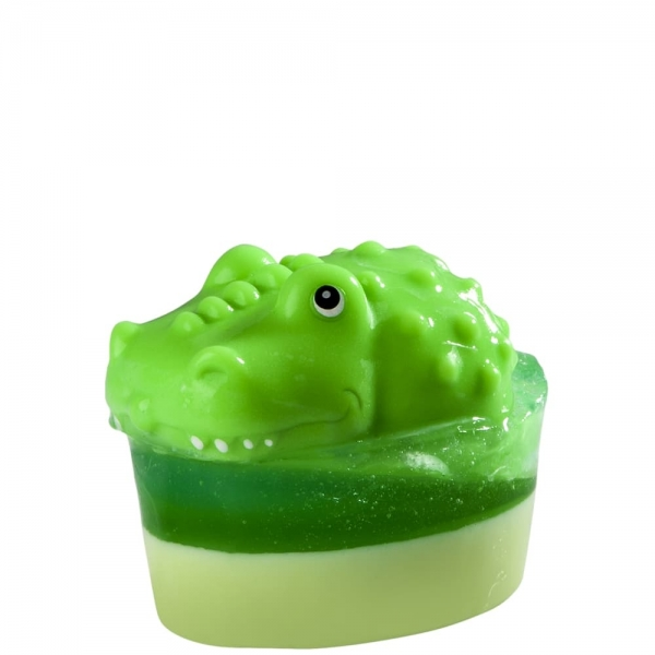 Mydło z zabawką – krokodyl