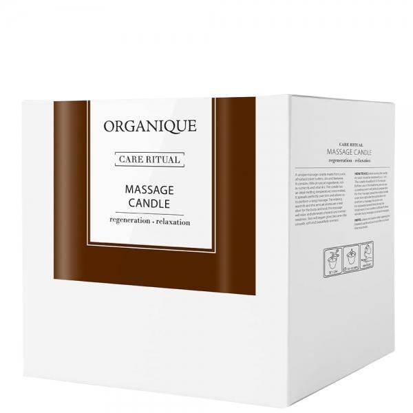 Świeca do masażu z olejem arganowym Orange&Chilli