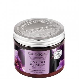 Peeling solny z masłem shea Black Orchid