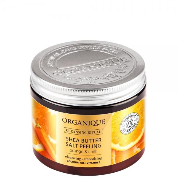 Peeling solny z masłem shea Orange&Chilli