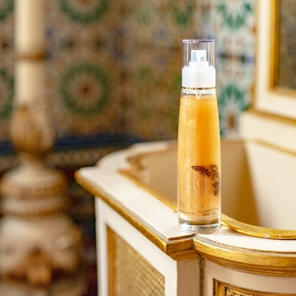 Rozświetlający suchy olejek do ciała Eternal Gold