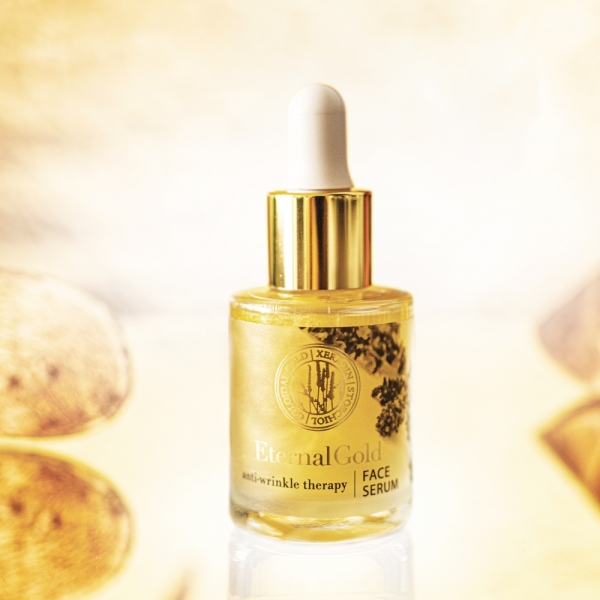 Ujędrniające serum do twarzy Eternal Gold
