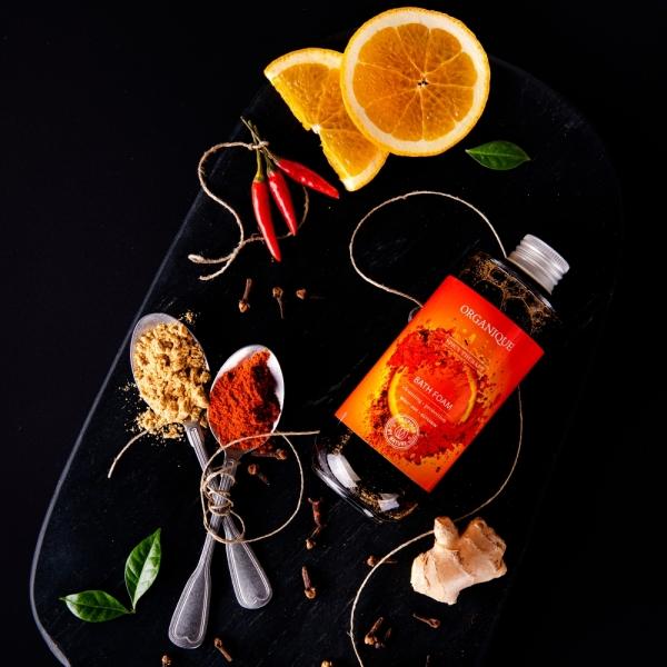 Stymulujący nektar do kąpieli Spicy