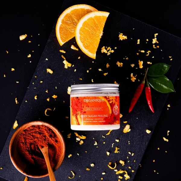 Stymulujący peeling cukrowy Spicy