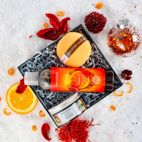Zestaw prezentowy Orange Evening