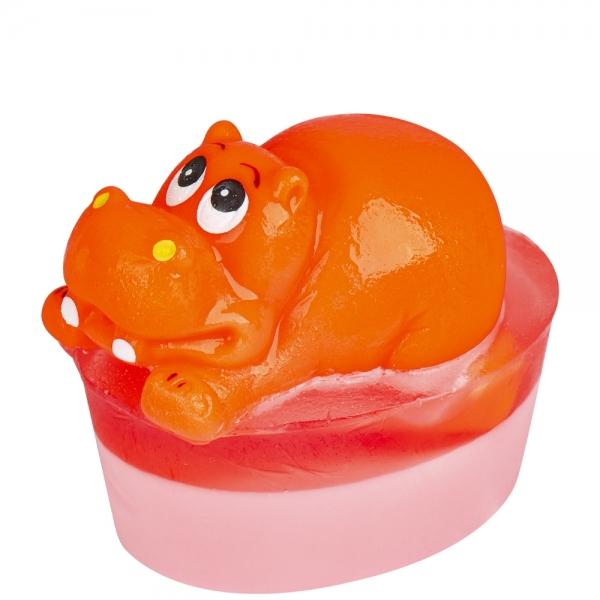 Mydło z zabawką Hipopotam