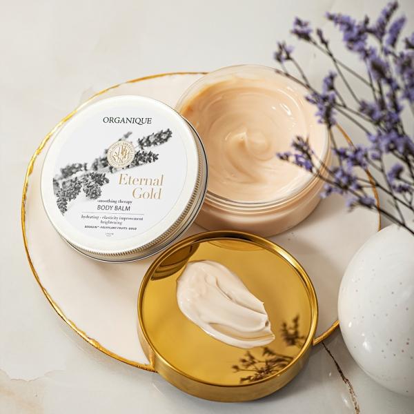 Zestaw Nektar do kąpieli + Rozświetlające masło do ciała Eternal Gold