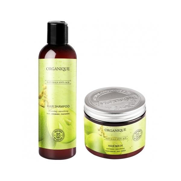 Zestaw szampon + maska Anti Age