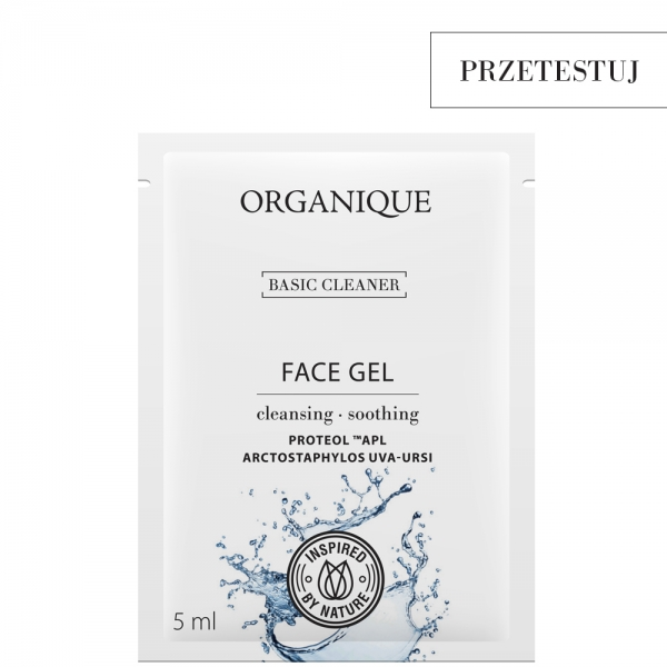 Łagodzący żel do mycia twarzy Basic Cleaner próbka