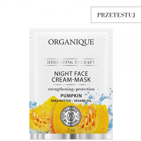 Maska - krem na noc