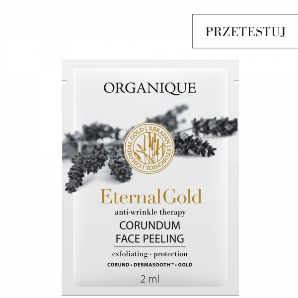 Peeling korundowy dla skóry dojrzałej Eternal Gold próbka