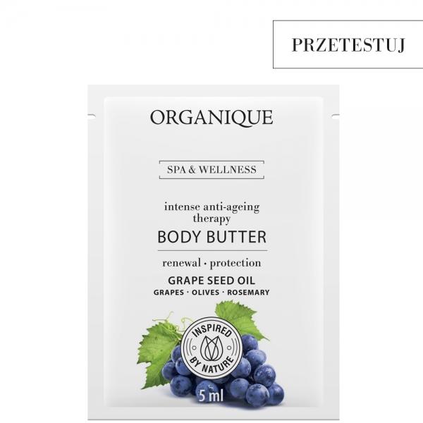 Przeciwstarzeniowe masło do ciała Intense Anti-Ageing/Grape próbka