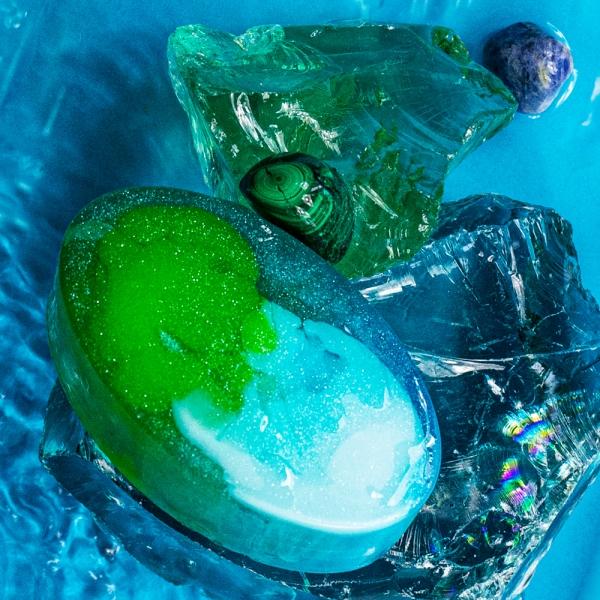 Mydło glicerynowe Głębia Oceanu
