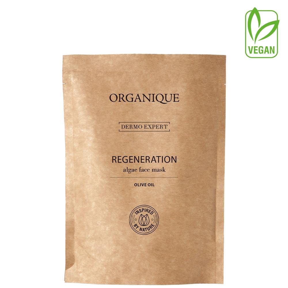 Regeneracyjna maska algowa z oliwą z oliwek Dermo Expert -50%