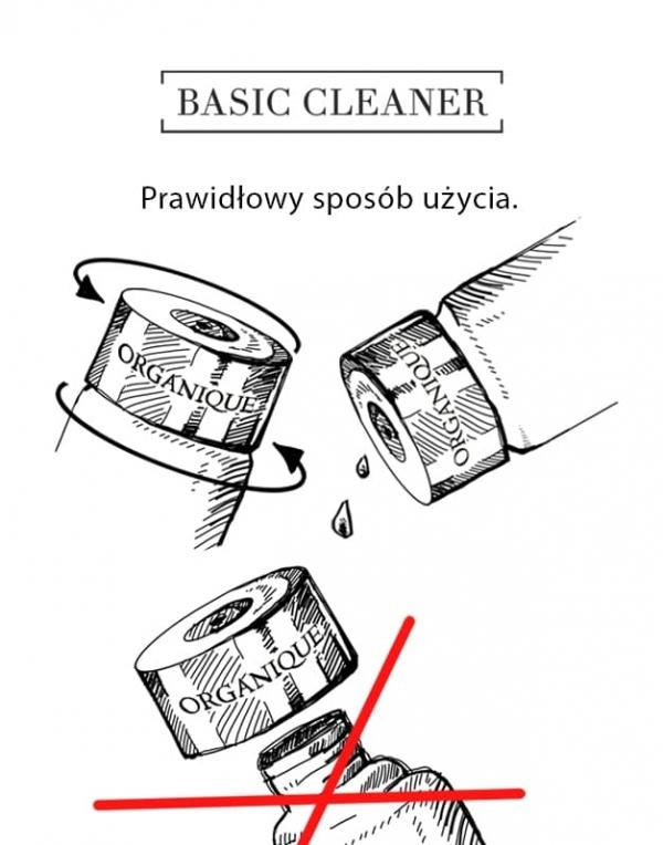 Łagodzący tonik dla skóry wrażliwej Basic Cleaner