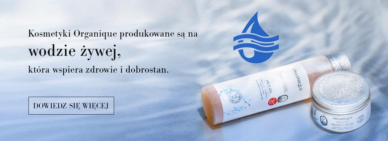 Woda żywa w kosmetykach Organique