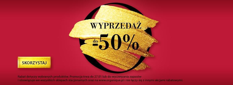 Wyprzedaż -50%
