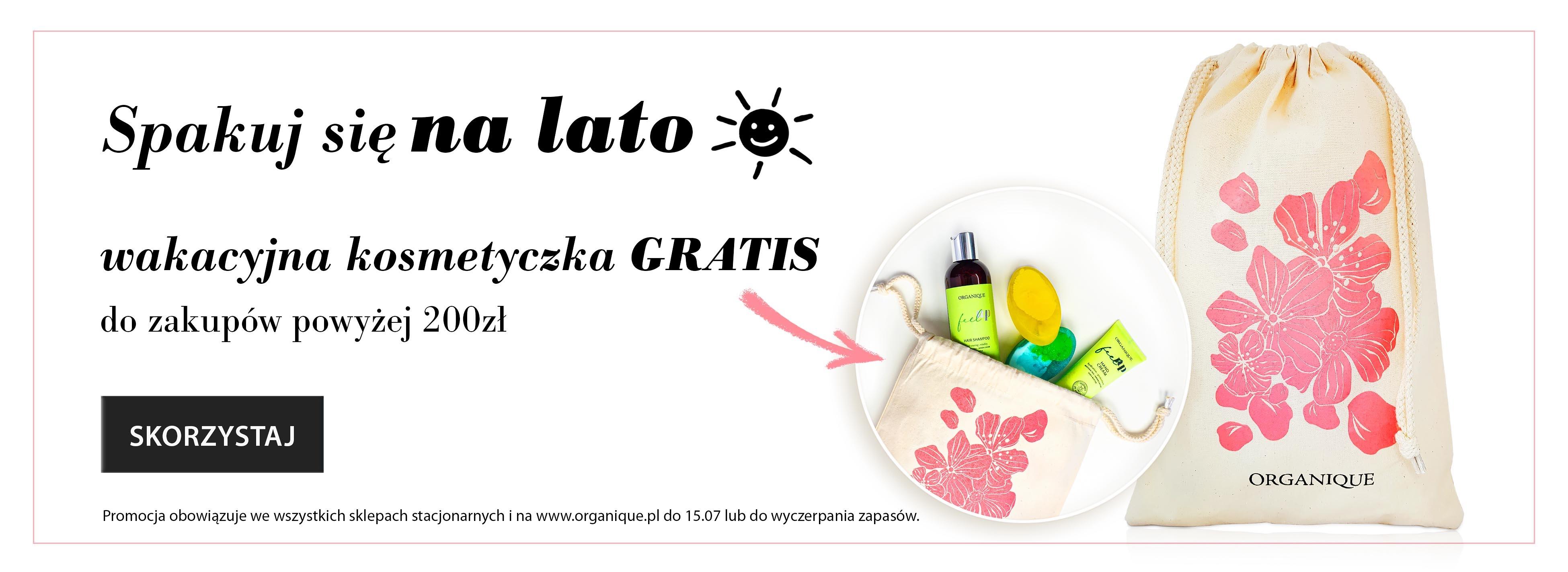 wakacyjna kosmetyczka gratis