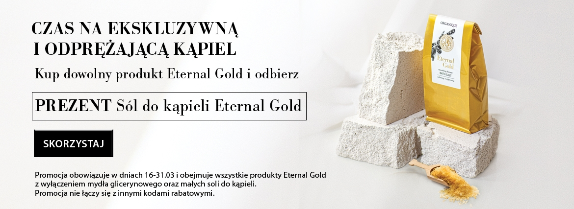 sól do kąpieli Eternal Gold gratis