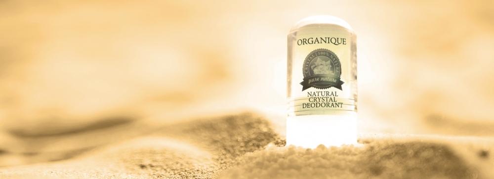 Ałun - naturalny dezodorant mineralny