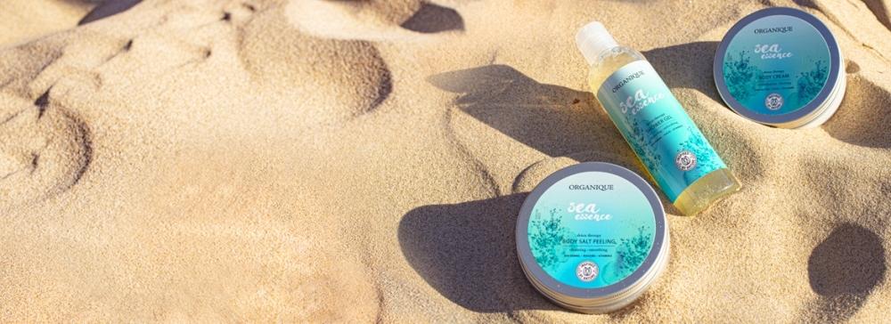 Kosmetyki z algami morskimi: orzeżwiające kremy z serii Sea Essence