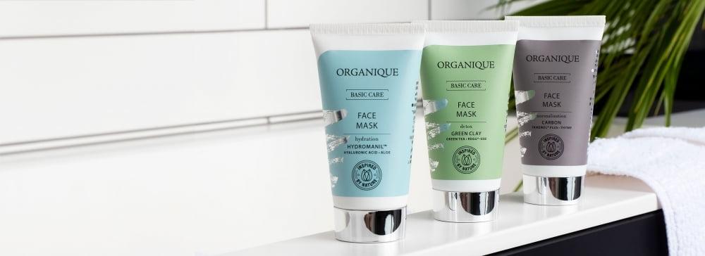 Premiera w Organique - Poznaj nowe maski do twarzy Basic Care